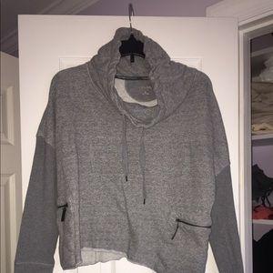Calvin Klein cowl turtle neck sweatshirt